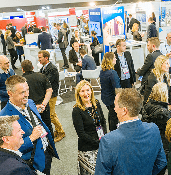 Exhibitors meet face to face with thousands of hoteliers